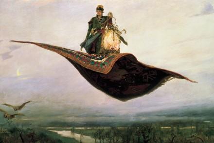 Wiktor M. Wasnezow: Fliegende Teppich (1880)