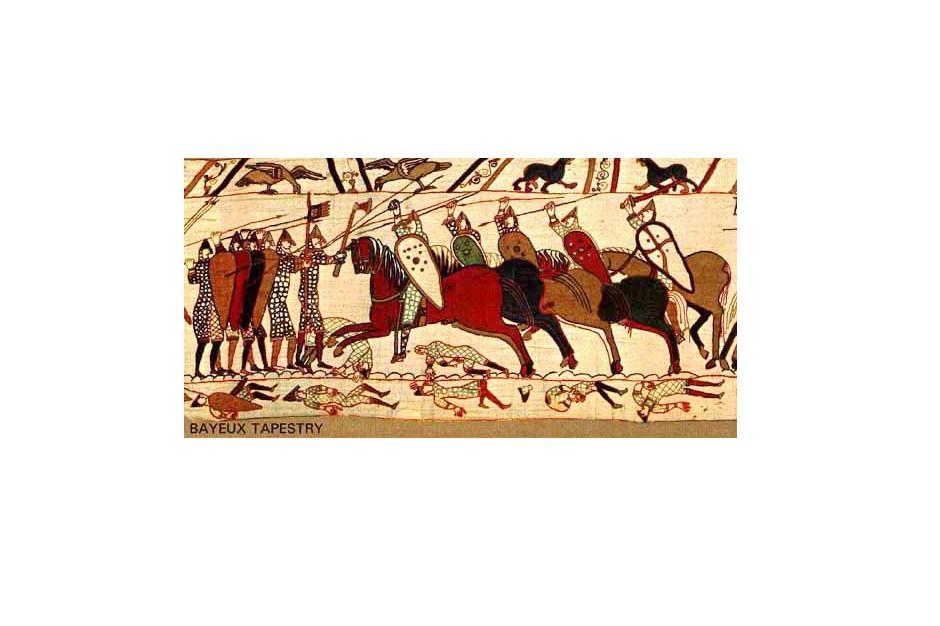 Teppich von Bayeux Ausschnitt