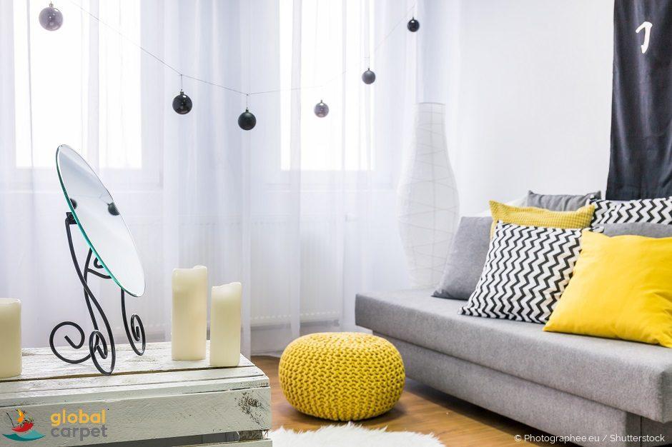 Farbgestaltung im Wohnzimmer - unser Farbenguide - Global ...