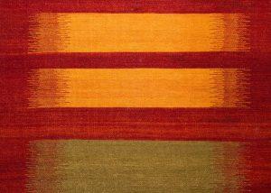 Kelim Palas - Felder, mit leuchtenden Farben